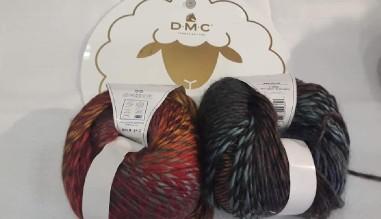 DMC SHINE  A coleção que foi um sucesso!  Restam-nos estas cores, mas temos várias unidades de cada